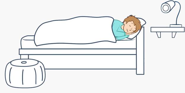 Ein häufiger Grund für Enuresis sind Aufwachstörungen
