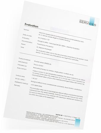ENUTRAIN Bioverträglichkeit (Toxikologisches Gutachten)