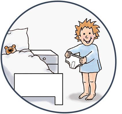 Enutrain Wecktraining - Therapieablauf: Zeit ins Bett zu gehen